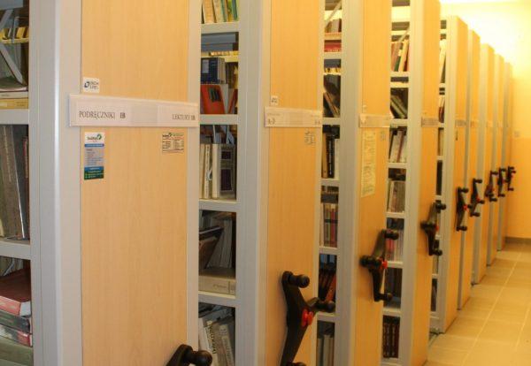 Wypożyczalnia - magazyn książek